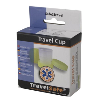 TravelSafe faltbarer Becher