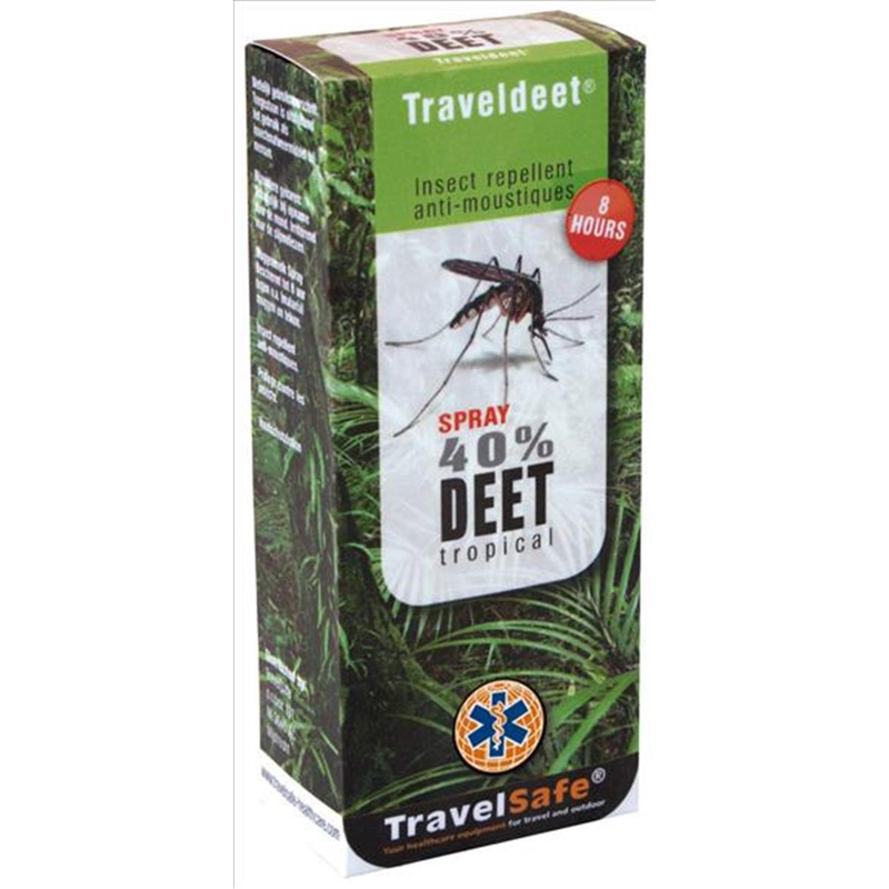 TravelSafe Mückenabwehrspray Travel DEET 40% Spray | 8712318010375