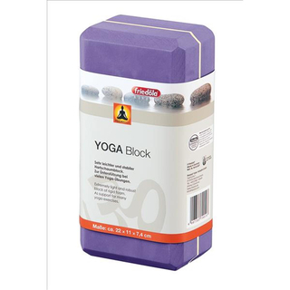 Wehncke Yoga Block 22 x 11 x 7,4 cm purple